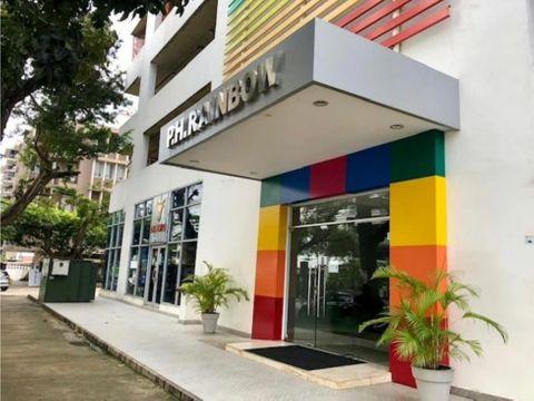 el carmen hermoso apartamento de 3 recamaras ph rainbow tower