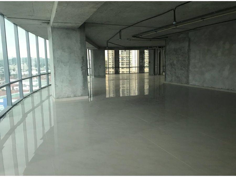 venta oficina en financial park de 475mt2