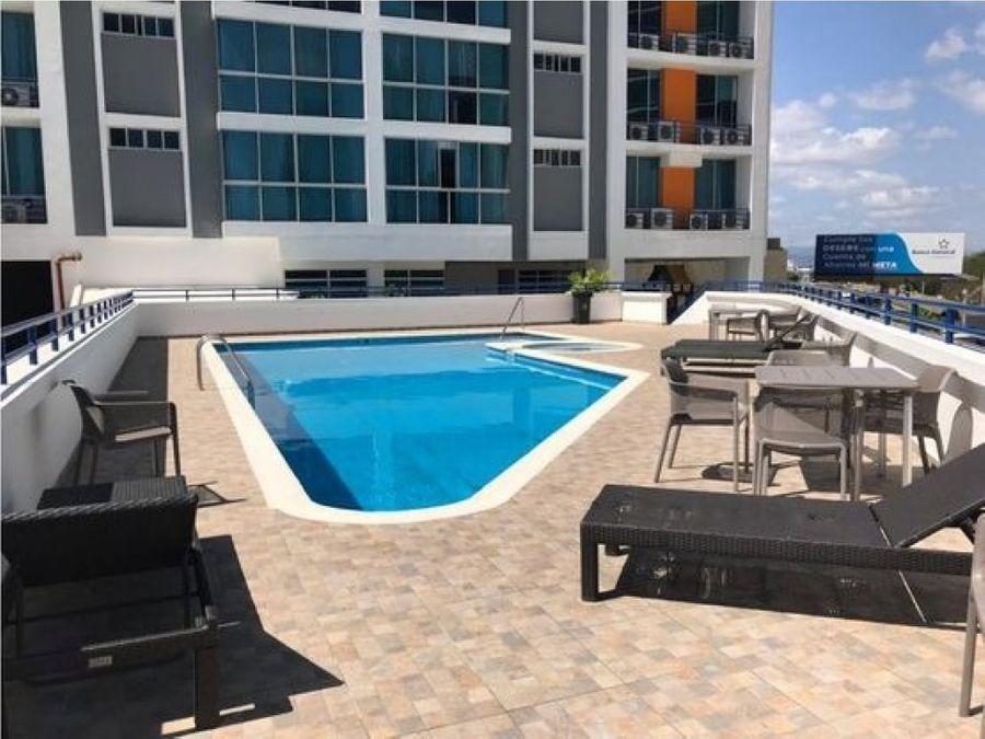 vendo apartamento de amplia terraza ph costa view