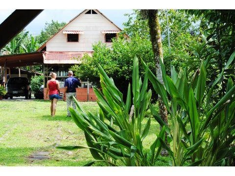 vendo casa piscina y rancho horqueta sarapiqui
