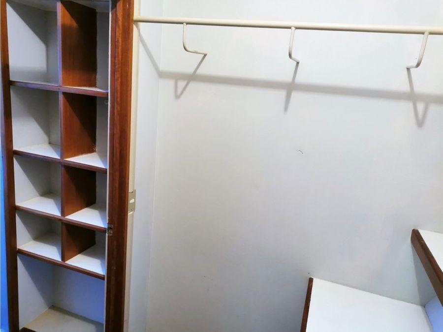 alquilo apartamento amoblado en moravia 850