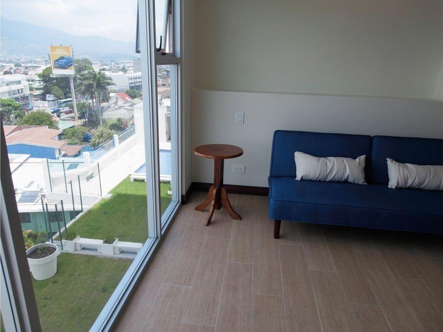 alquiler apartamento amoblado torres los yoses