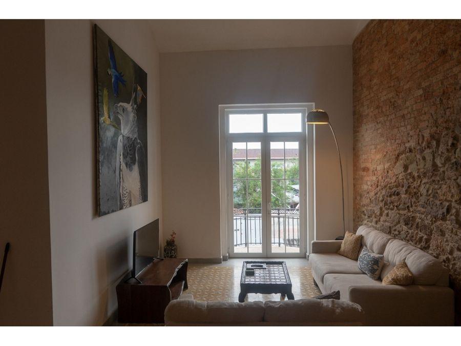 alquiler loft en casco antiguo edif art deco 2 rec amoblado hm027