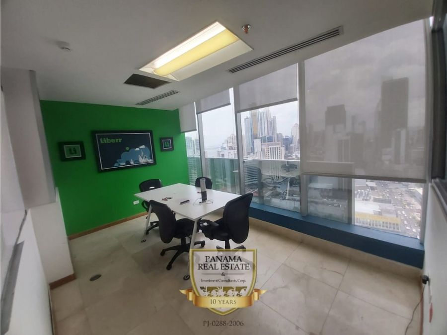 oficina calle 50 en el tornillo edificio ff tower venta mf