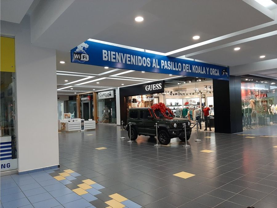 oportunidad local en albrook mall pb 98 metros jlh