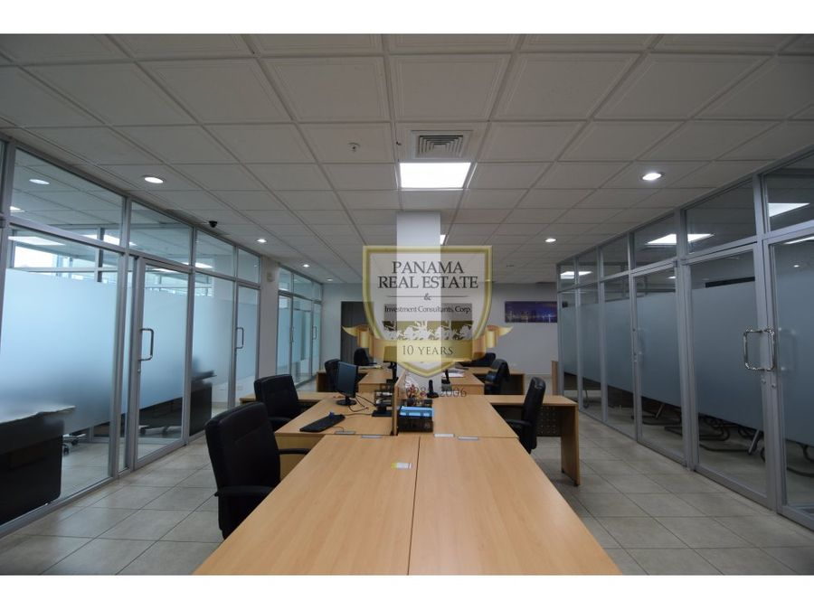 venta de oficina en obarrio 229 mts office one