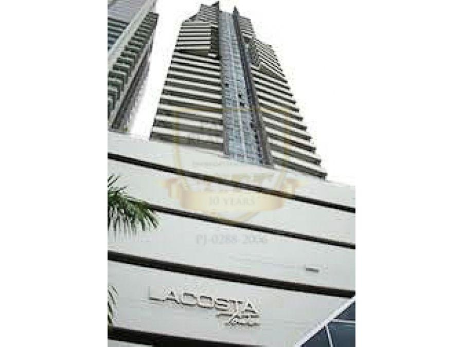 venta en costa del este ph lacosta tower 3rec den 188m2 hm088