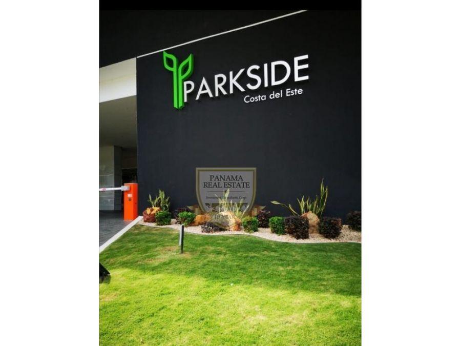se vende parkside 298000 vista al parque cc