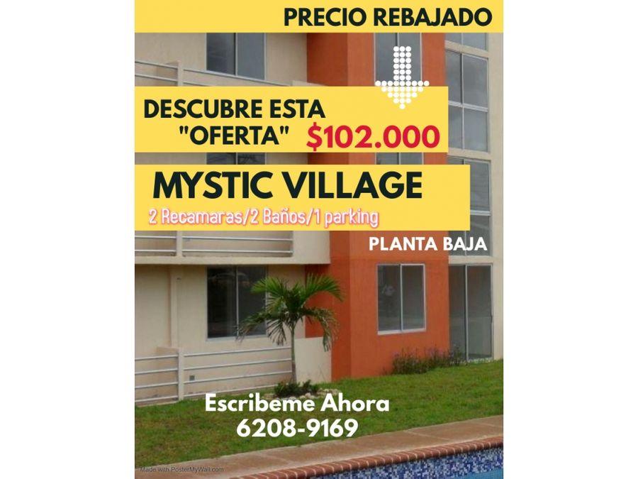apatamento en venta en mystic village