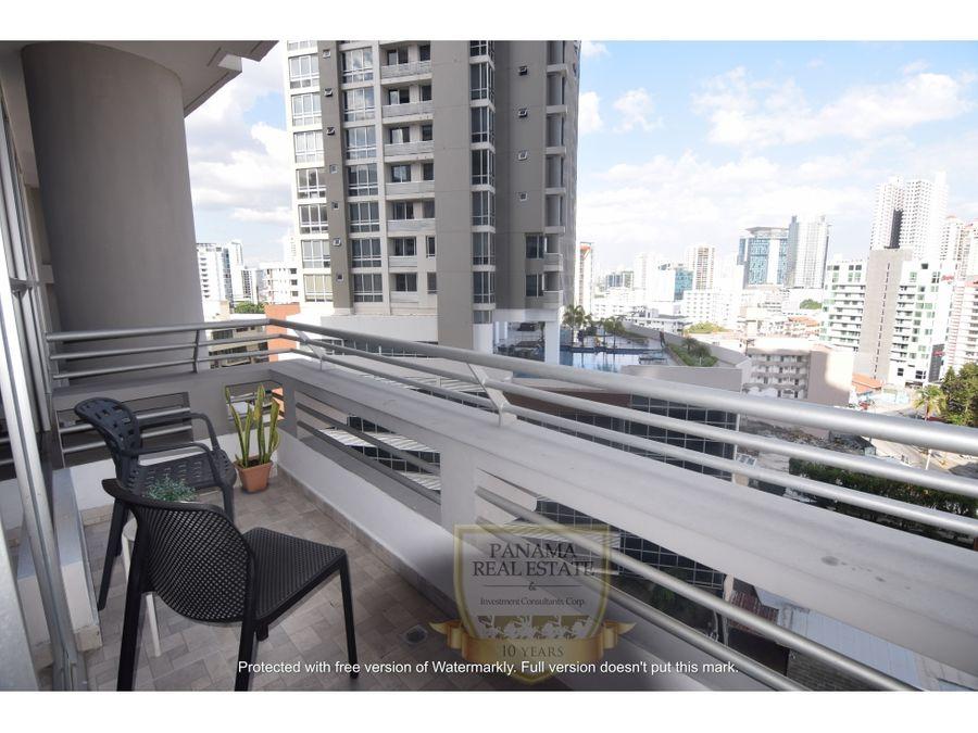 alquiler de apartamento amoblado en ph luxor 200 el cangrejo sf