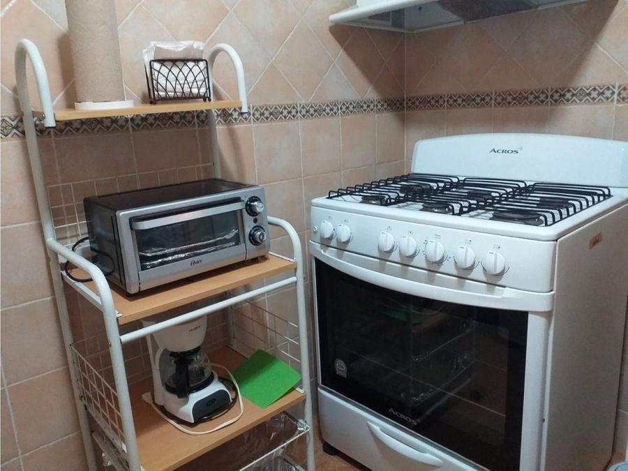 apartamento en alquiler el cangrejo amoblado