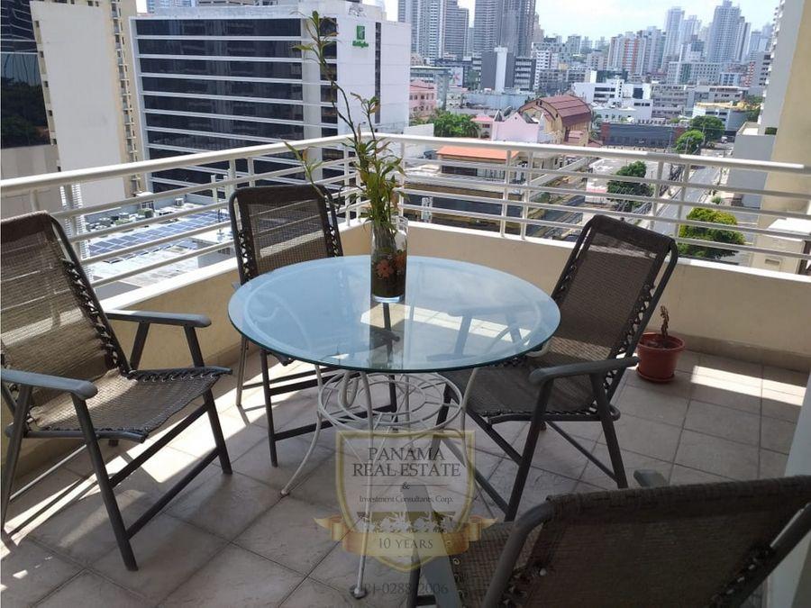 se vende o alquila apartamento en obarrio ph sunrise tower lt