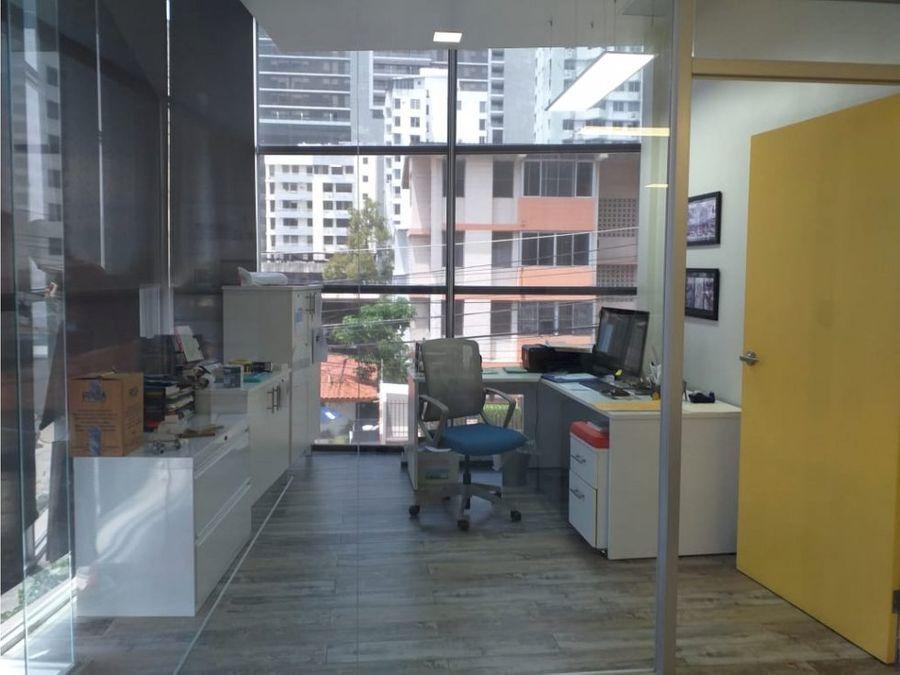 san francisco oficina moderna y equipada en alquiler