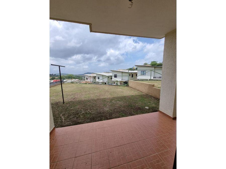 casa duplex a estrenar con linea blanca en ph vistas del lago lisa