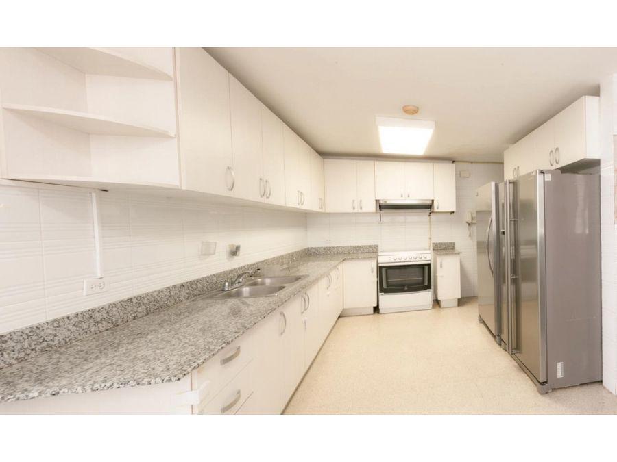paitilla 250 mts 3 habitaciones linea blanca