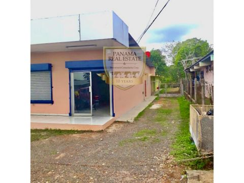 se vende casa en la chorrera terreno local cc