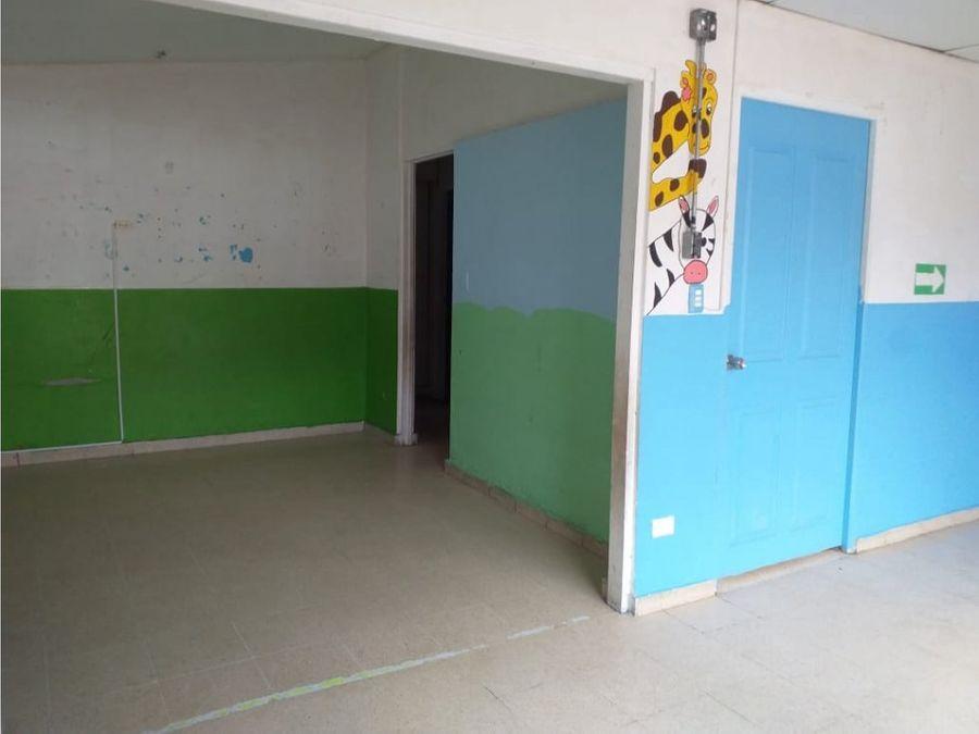 casa comercial en bethania excelente para preescolar