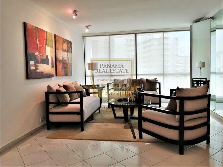alquiler apartamento amoblado punta paitilla aida