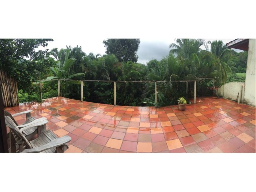 alquilo casa duplex 419m en albrook hermoso jardin