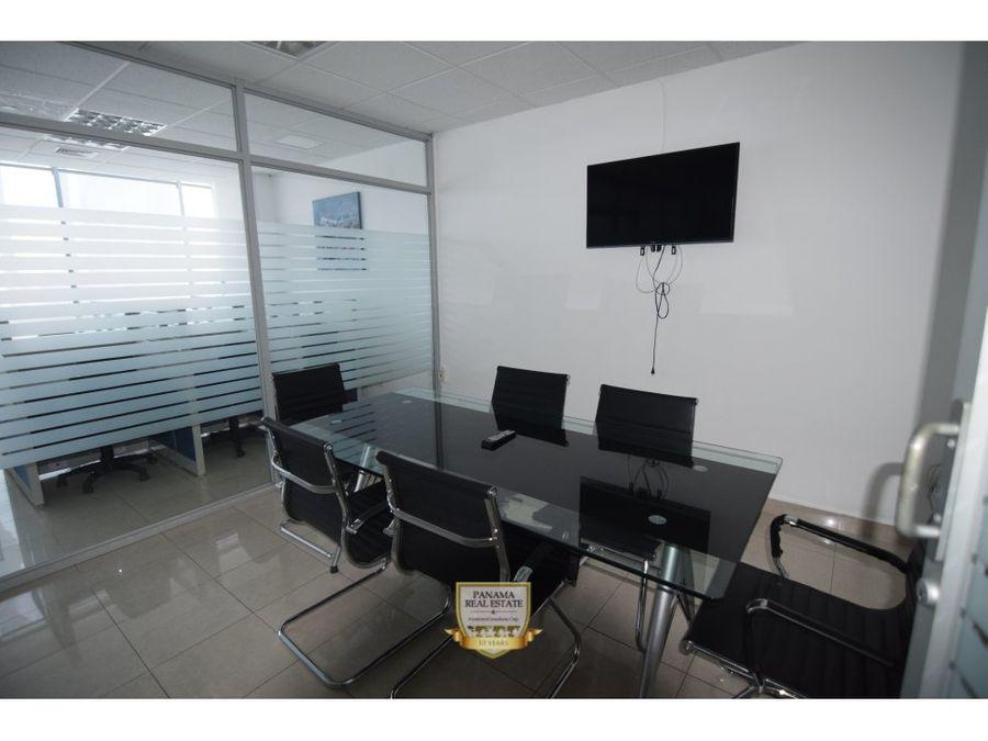 oficina en alquiler torre global bank calle 50 ov