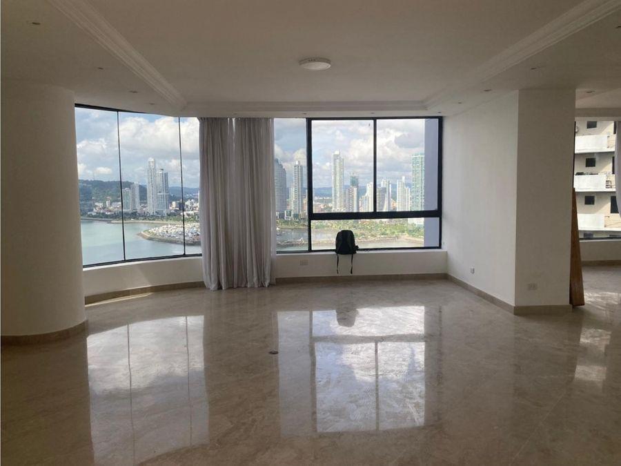apartamento en alquiler en ph bay side punta paitilla