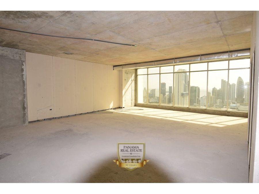 venta de oficina en obra negra torre bicsa avenida balboa ov