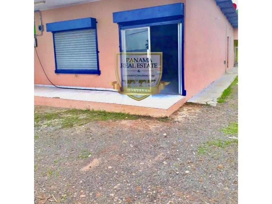 se vende casa en la chorrera terreno local cc