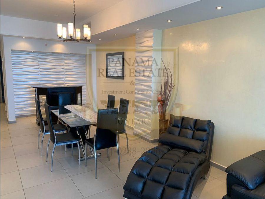 alquilo en avenida balboa ph yacht club 2 rec 151 m2 amoblado hm052