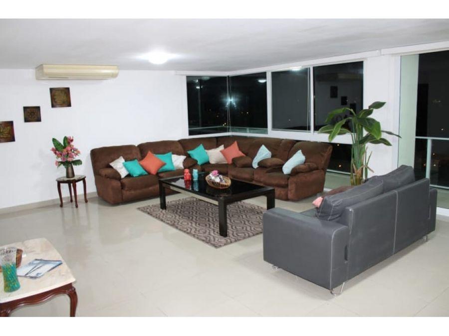 apartamento amoblado en clayton amoblado pent house 320mts2