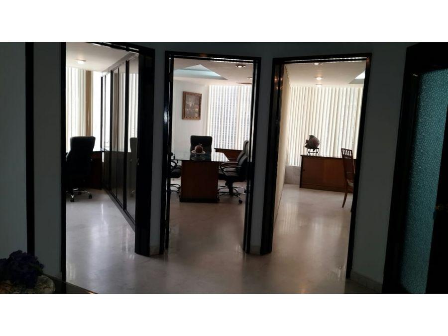 se alquila oficina amoblada en el area bancaria jlh