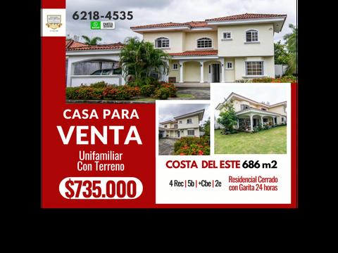 casa en venta costa del este inmejorable oferta llameme 6218 4535