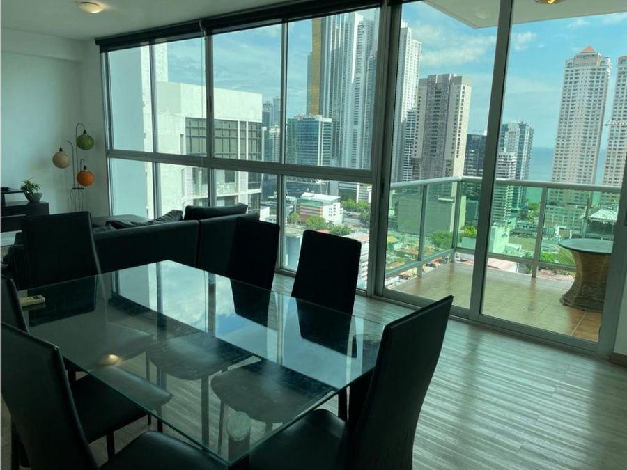 se vende apartamento ph seawaves en bella vista lh