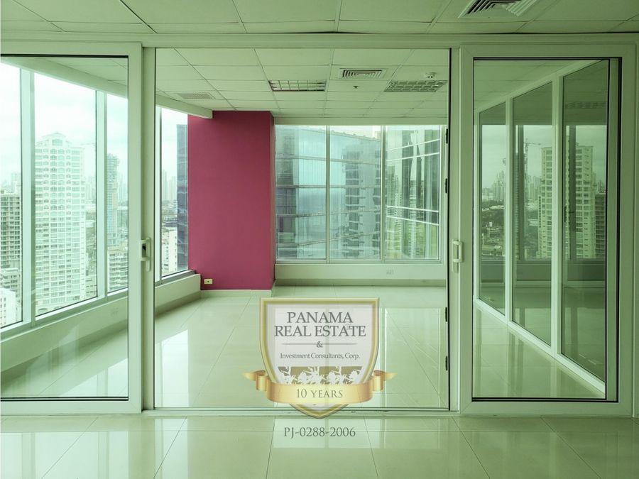 oficina en alquiler en torre banesco con vista sd