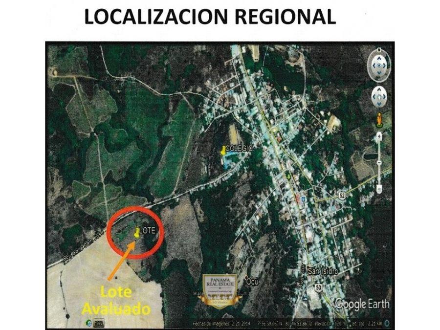 venta de terreno urbanizable en ocu ov preic