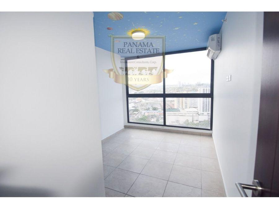 impecable apartamento con linea blanca en ph vista verde san fco lisa