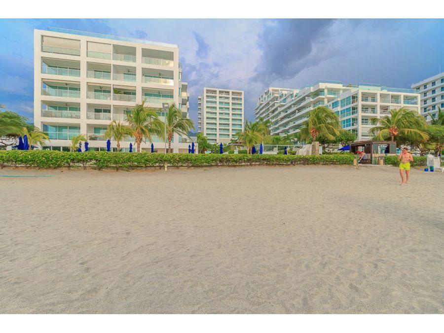 apartamento con vista y salida directa a la playa