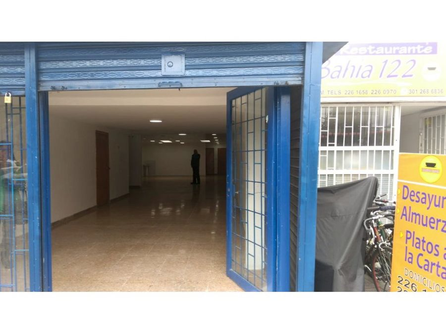 arriendo excelente local bulevar niza antigua
