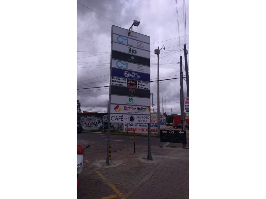 vendo excelente local comercial chia