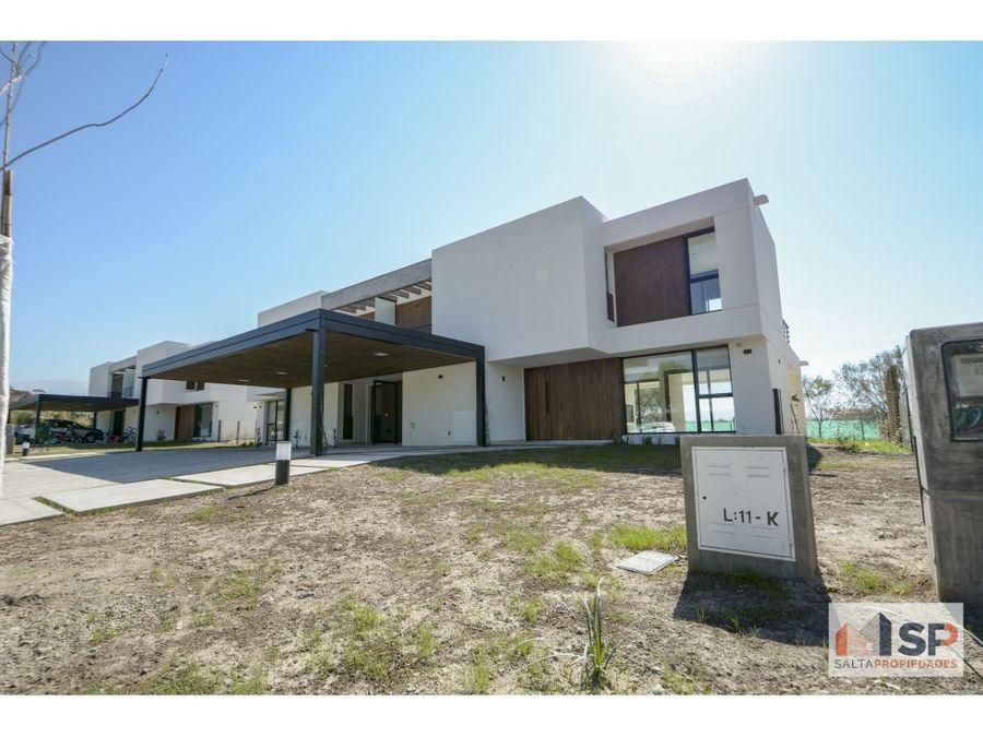 casas blancas en club de campo praderas de san lorenzo a estrenar