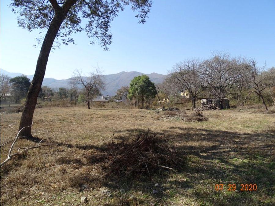 terreno en vaqueros