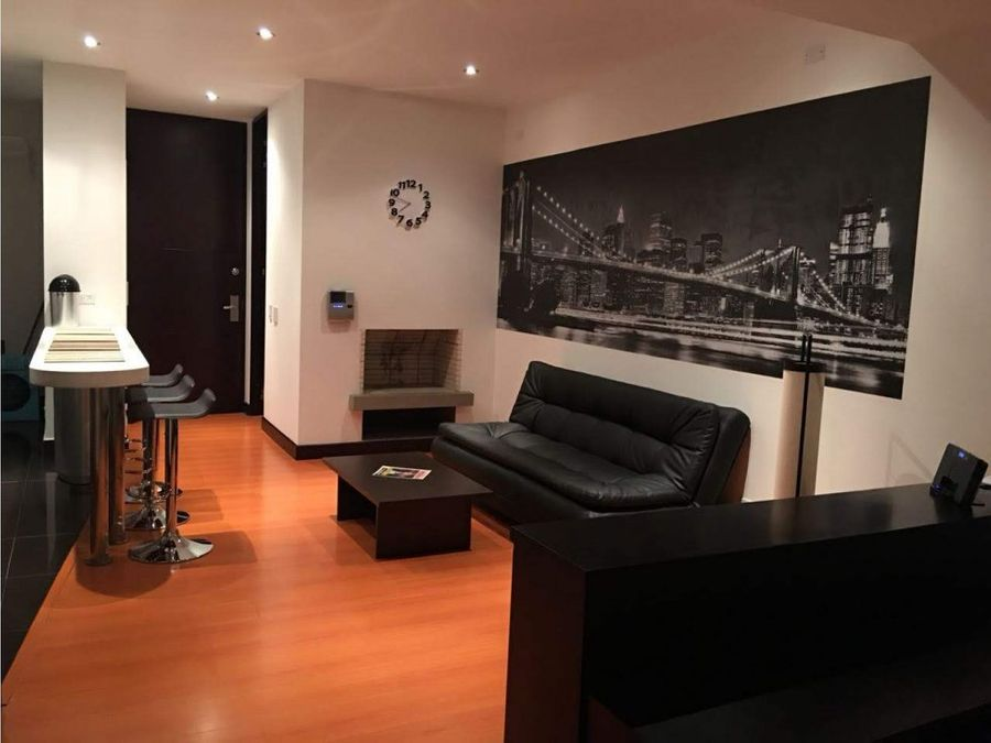 ganga moderno apartaestudio amoblado 60m2 chico navarra