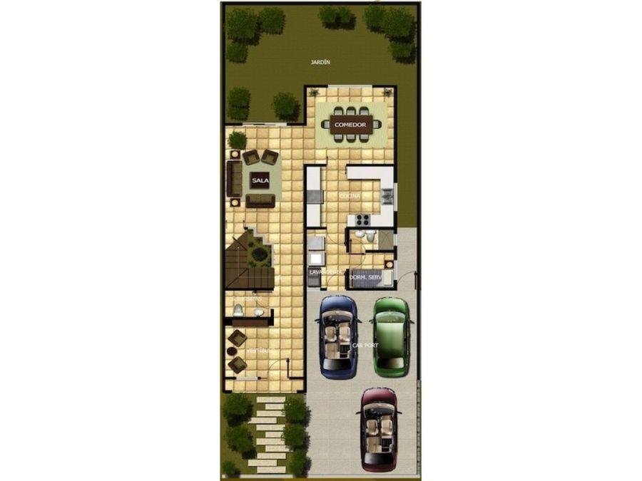 venta de casa en planos en condominio km165 ces