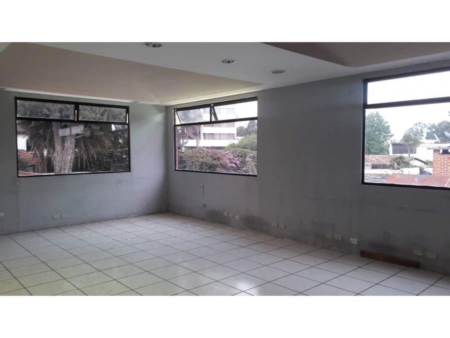 renta yo venta de casa para oficina en zona 13