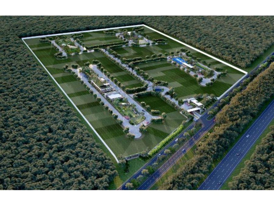 privada residencial con increibles parques