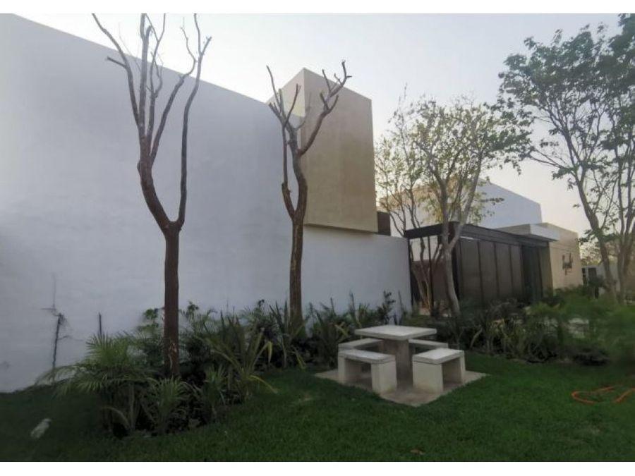 villas syrah amuebladas en temozon