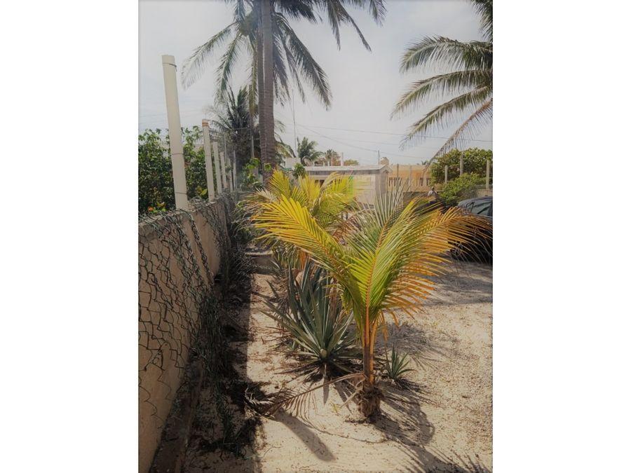 casa de 1 piso frente al mar chuburna pto progreso yucatan