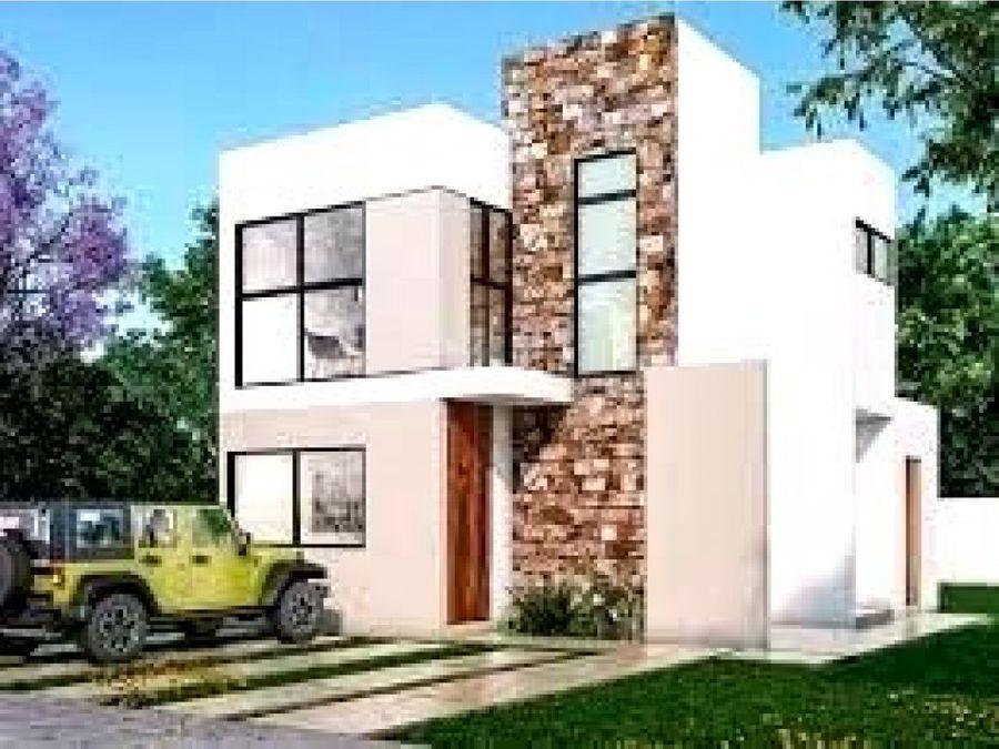 hermosa casa nueva en gran san pedro cholul