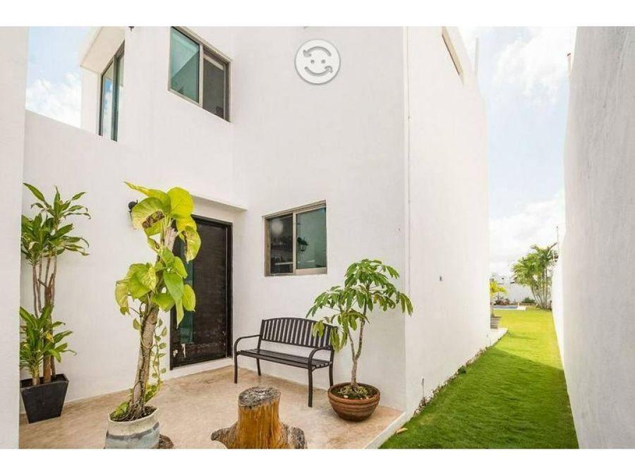 hermosa casa con terreno amplio de 650 m2