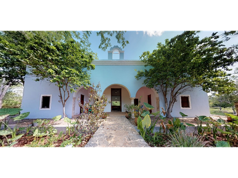 bellisima hacienda cuch balam en yucatan