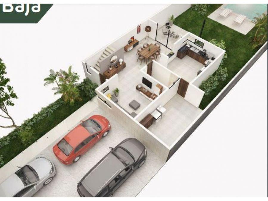 casa en privada bellavista plus en preventa dzitya yucatan